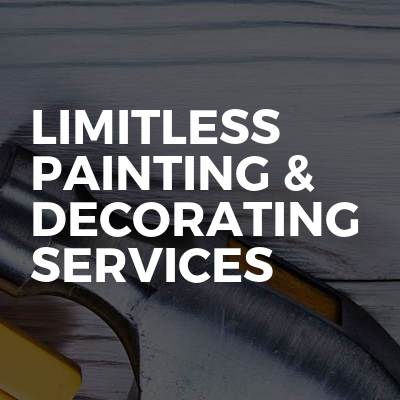 LIMITLESS PAINTING & DECORATING SERVICES