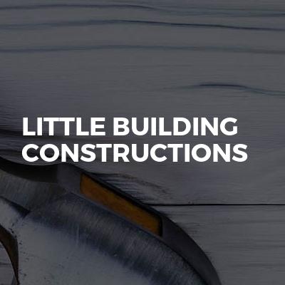 Little building constructions