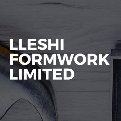 Lleshi Formwork Limited