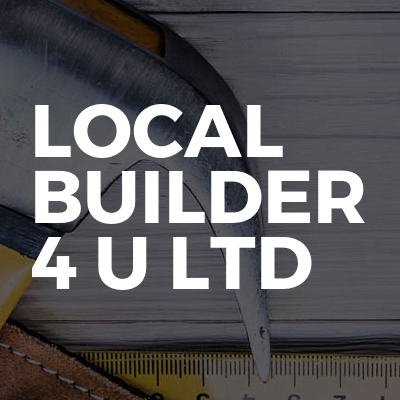 Local Builder 4 U Ltd