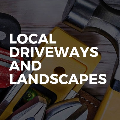 Local driveways and landscapes