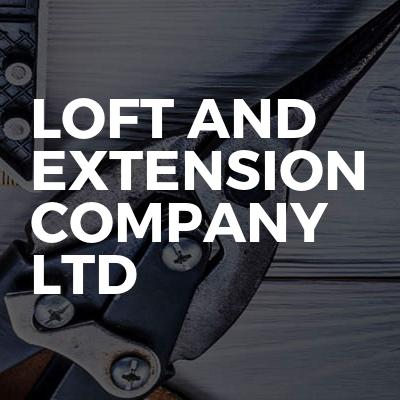 Loft and extension company ltd
