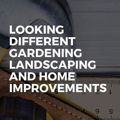 Looking different gardening landscaping and home improvements