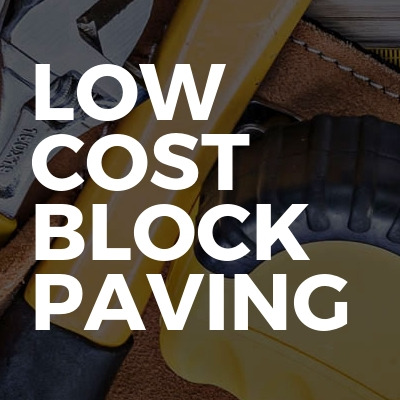 Low cost block paving