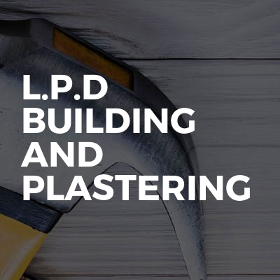 L.P.D Building and plastering