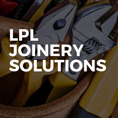 Lpl joinery solutions