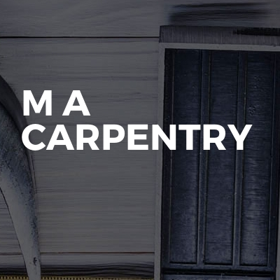M a carpentry