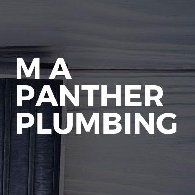 M A Panther Plumbing