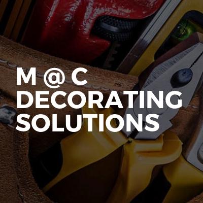 M @ C Decorating Solutions