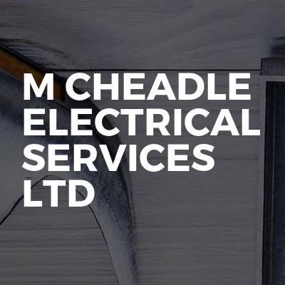 M cheadle Electrical Services Ltd