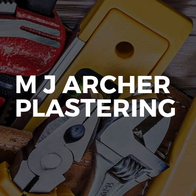 M J Archer Plastering