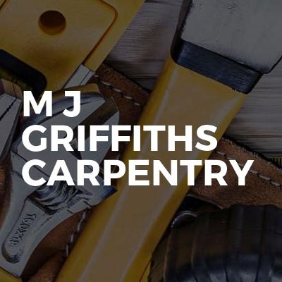 M J Griffiths Carpentry