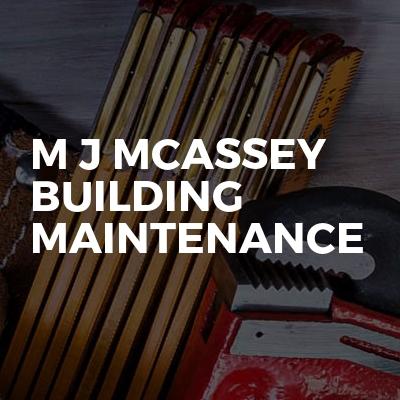 M J Mcassey Building Maintenance