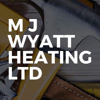 M j wyatt Heating ltd