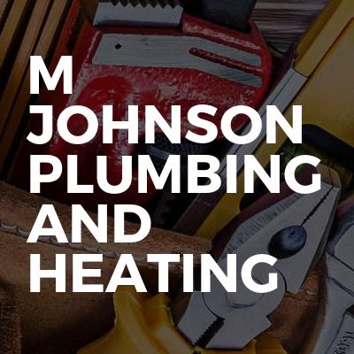 M Johnson plumbing and heating