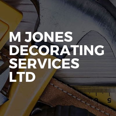 M Jones Decorating Services Ltd