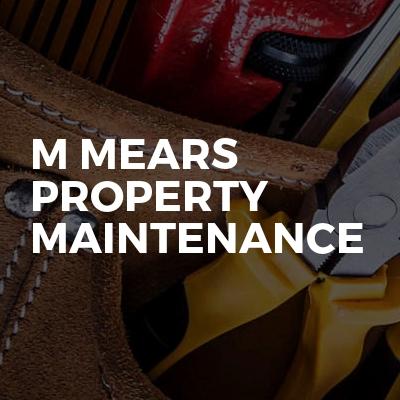 M Mears Property Maintenance