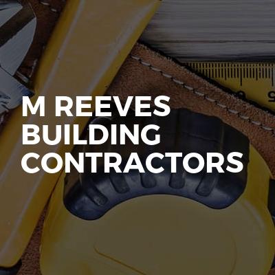 M Reeves Building Contractors