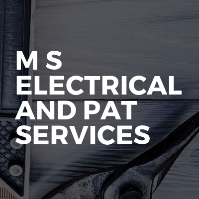 M s electrical and pat services