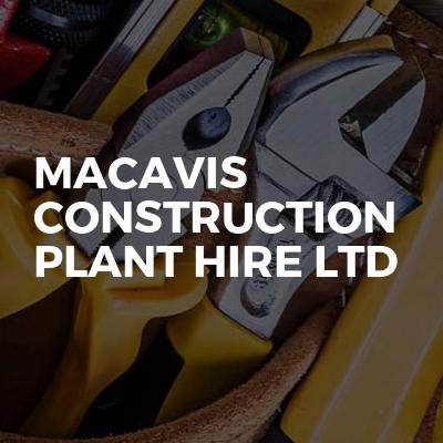 Macavis Construction Plant Hire Ltd