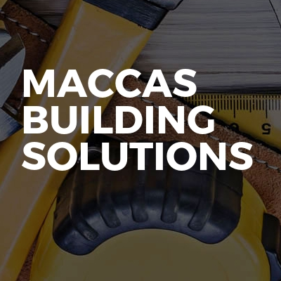 Maccas Building Solutions