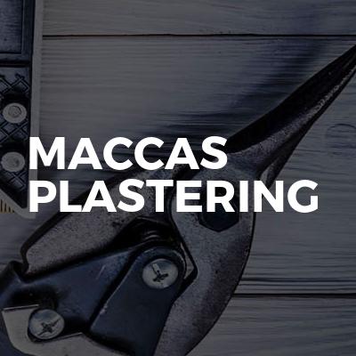 Maccas Plastering