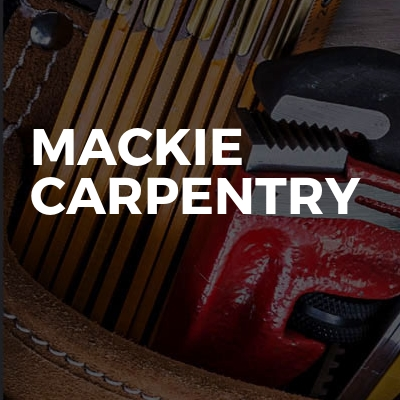 Mackie Carpentry