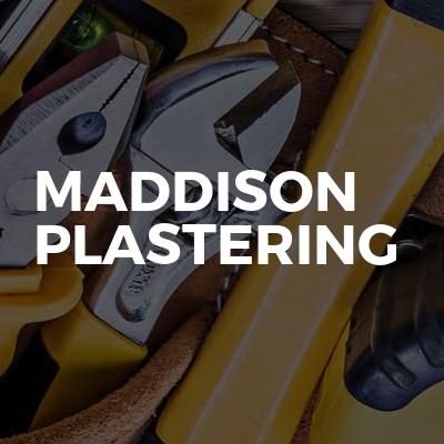 Maddison Plastering