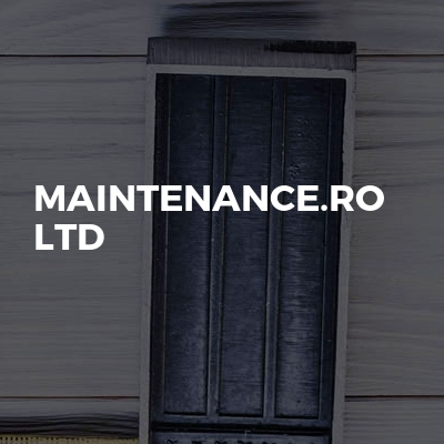 Maintenance.Ro Ltd