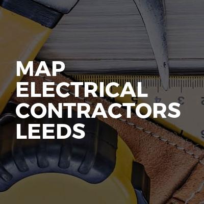 MAP ELECTRICAL CONTRACTORS LEEDS