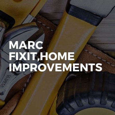 Marc Fixit,Home Improvements
