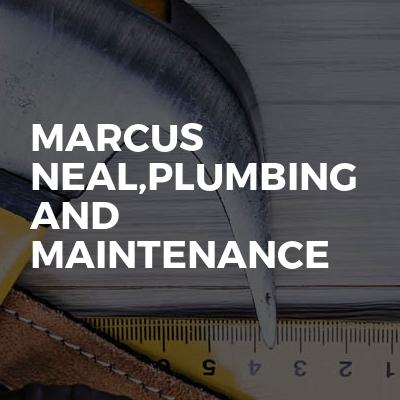 Marcus Neal,Plumbing and maintenance