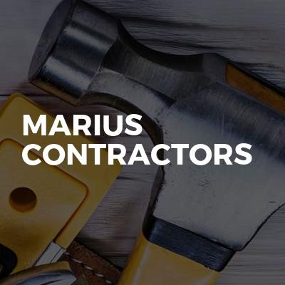 Marius contractors