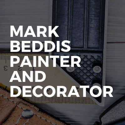 Mark Beddis painter and decorator