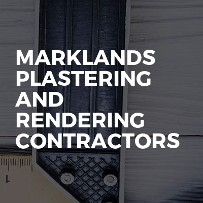 Marklands plastering and rendering contractors