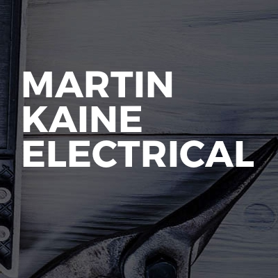 Martin Kaine Electrical