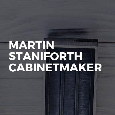 Martin Staniforth cabinetmaker