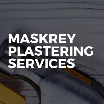Maskrey Plastering Services