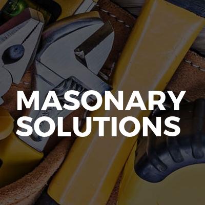 masonary solutions