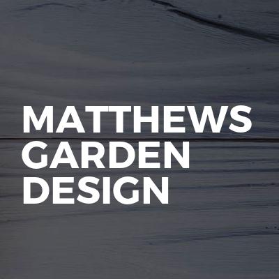 Matthews garden design