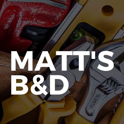 Matt's B&D