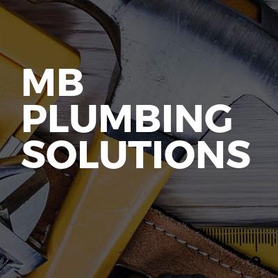 MB Plumbing  Solutions