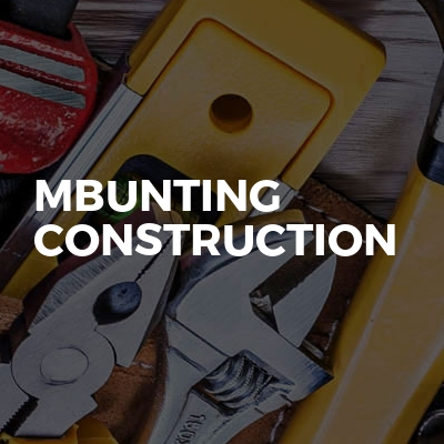 Mbunting construction