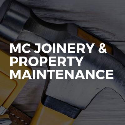 MC Joinery & property maintenance