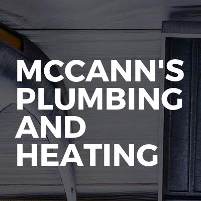 MCCANN'S PLUMBING AND HEATING