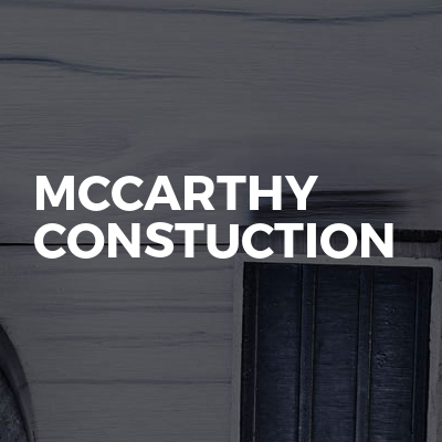 McCarthy constuction