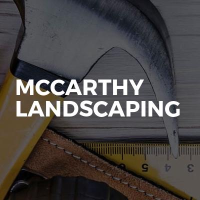 Mccarthy landscaping