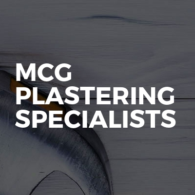 MCG Plastering Specialists