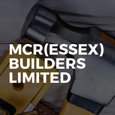 Mcr(Essex) Builders Limited