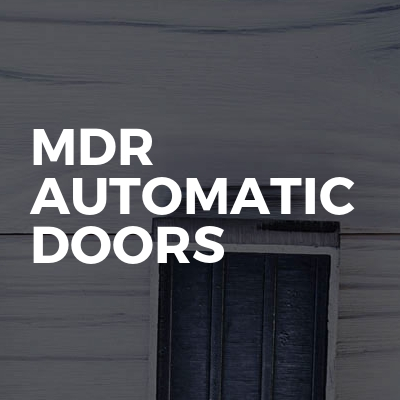MDR Automatic Doors